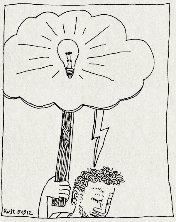 tekening 1944, actie, domiboplus, idee, ingeving, inspiratie, inspiratie bestaat niet, lezing, nh49, onweer, spreekbeurt, wolkje