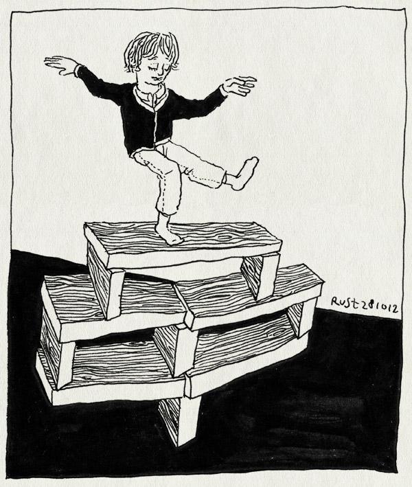 tekening 1983, ,idas, 3d, angry birds, balanceren, spel