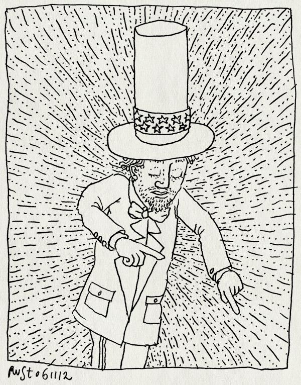 tekening 1992, amerika, goedzo, obama, president, reelection, verkiezingen
