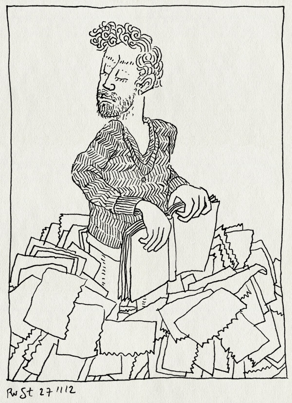 tekening 2013, boekjes, joost pollmann, originelen, scheuren, strips