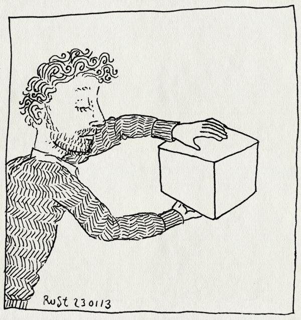 tekening 2070, 3d, doos, kubuis, plat, vorm