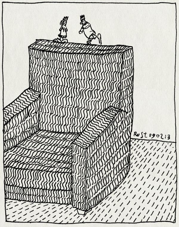 tekening 2087, alwine, poppenspel, vingerpoppetjes, willemijn