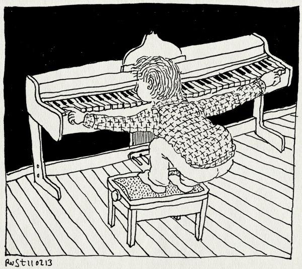 tekening 2089, akkoorden, hoog, laag, maasstraat, midas, muziek, piano, taal