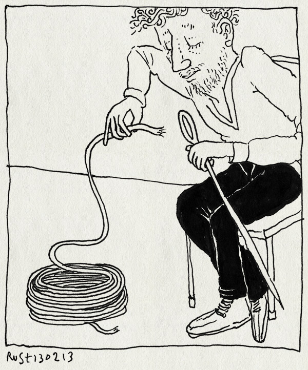 tekening 2091, draad, fwf, groot, naald, steken