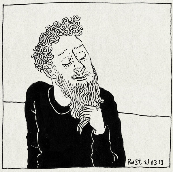 tekening 2127, baard, hip, hipster, lang, opplakbaard