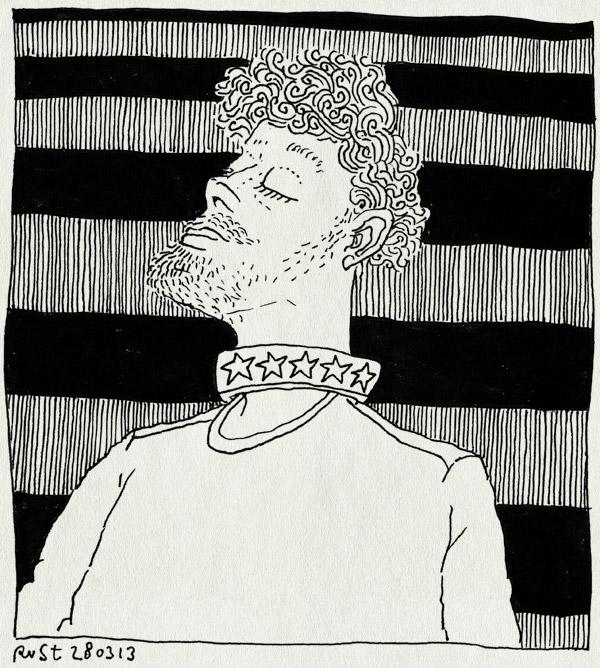 tekening 2134, animatie, halsband, hondje, reckon, sterren