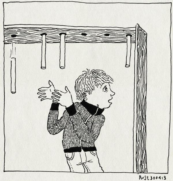 tekening 2167, den burg, keuzes, kiezen, kijken, koninginnedag, midas, spel, stokken vangen, texel