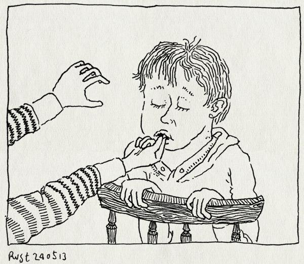 tekening 2191, los, midas, tand, trekken, wiebeltand, wisselen