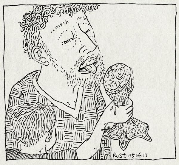 tekening 2203, avondvierdaagse, citroen, citroenzakdoek, likken, midas, pepermunt, zakdoek