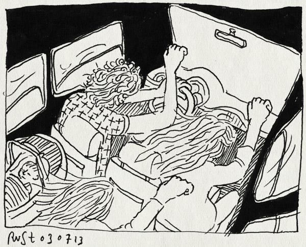tekening 2231, auto, berlijn, hendrine, kate, roadtrip, sophie, wellmade, yeah