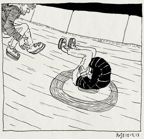 tekening 2396, curling, ijsbaan, markt, midas, middelburg, staatsbezoek