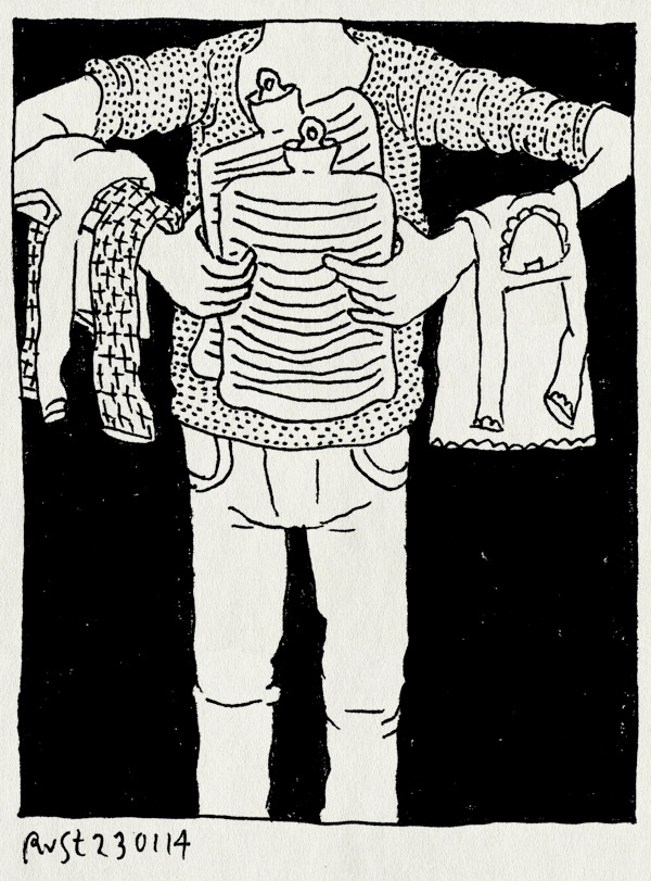 tekening 2435, alwine, gezellig, kruikjes, kuik, lief, midas, pyjama, warm