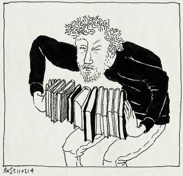 tekening 2454, 2500, boek, boeken, drukken, hanco, magie, peter