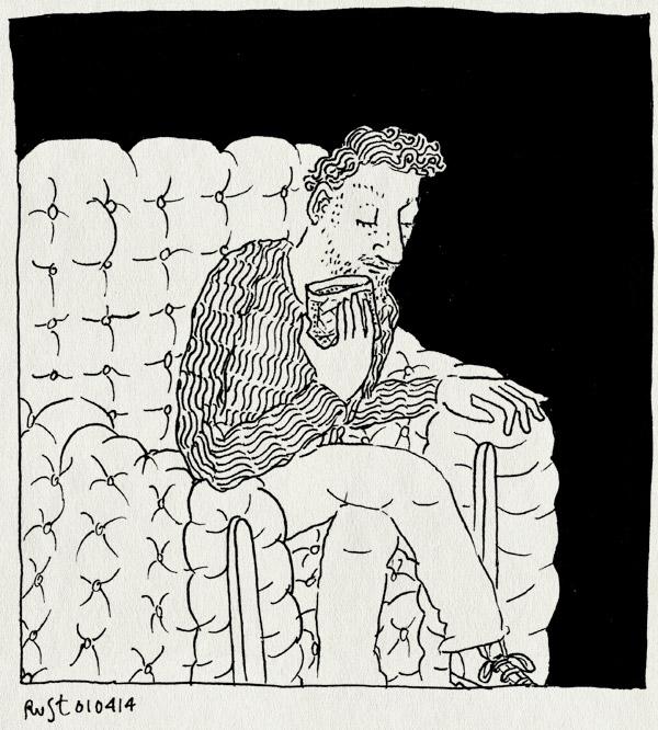 tekening 2503, chesterfield, gedistingeerd, lobby, pullitzers, stoel, whiskey sour, whisky sour