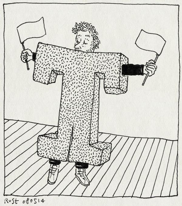 tekening 2540, kostuum, letter, mascotte, ns, pak, t, werk