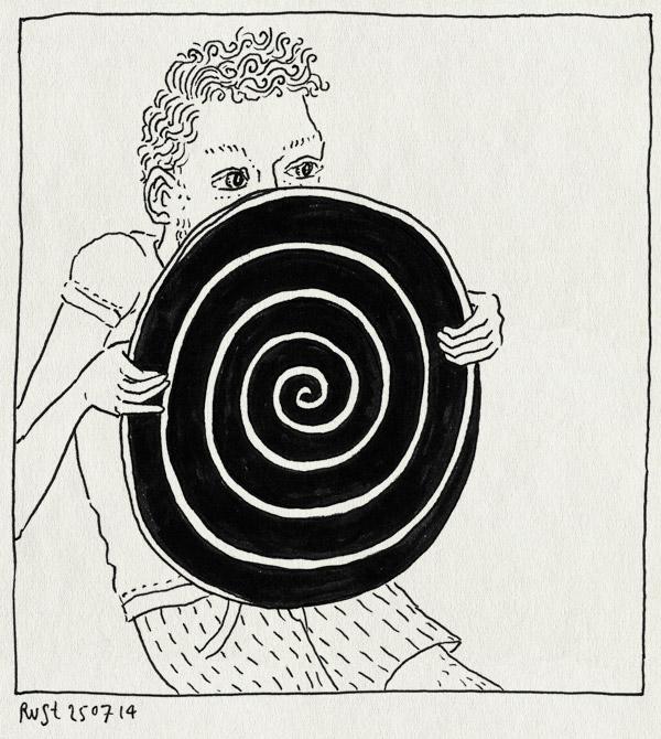 tekening 2618, brainwash, cirkel, hypnose, hypnotiseren, hypnotiserend, mind, werk