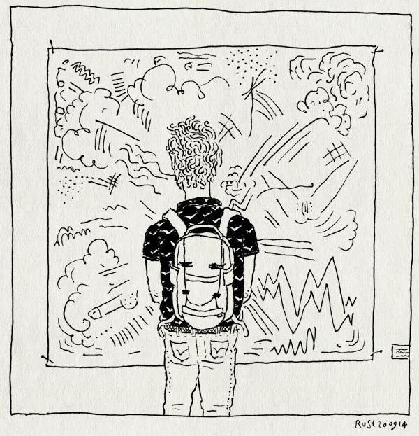 tekening 2675, abstract, amsterdam drawing, concreet, contrast, explosief, ndsm, tekening, tentoonstelling