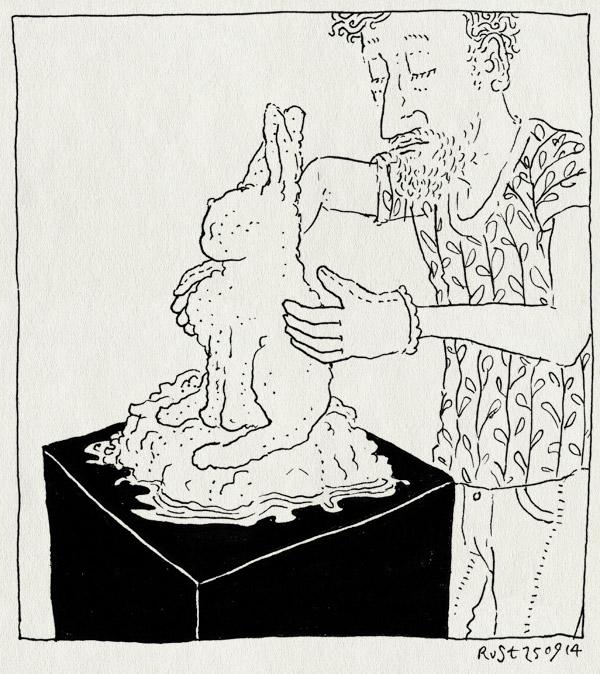 tekening 2680, boek, boetseren, konijn, martine, omslag, ontwerp, sneeuw