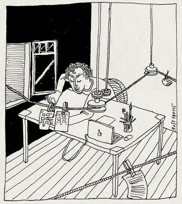 tekening 462, nh49 nieuwe heeren herengracht knijper touw constructie powerbook