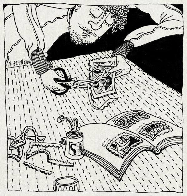 tekening 535, steemans vrachtdienst boek book photo foto inplakken lijm glue chinese schaar chinese scissors cut knippen knip