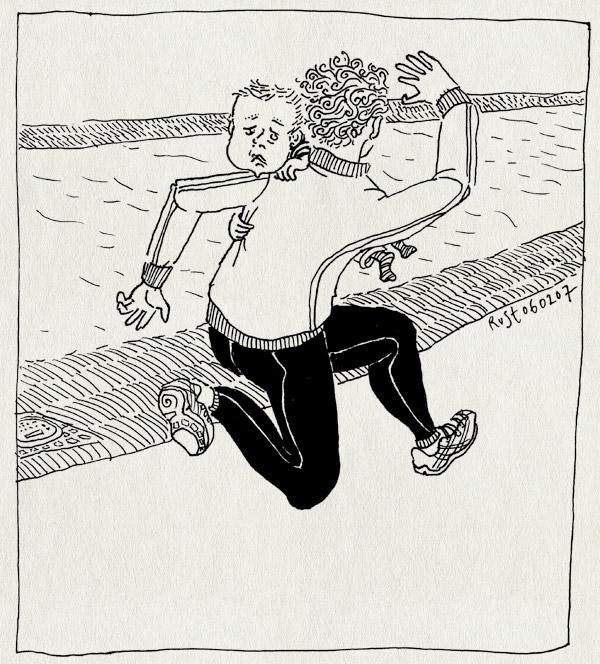 tekening 559, midas hardlopen rennen amstel renbroek baby steeman