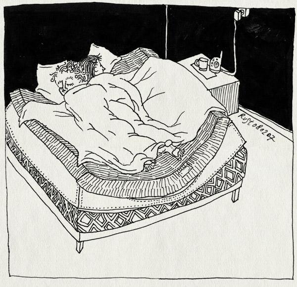 tekening 560, bed martine 10e rust ruben kuil babyfoon