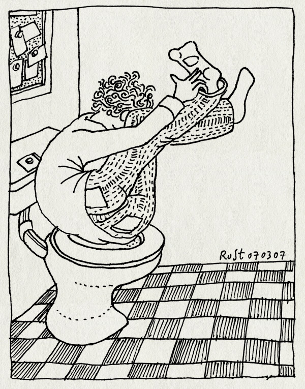 tekening 575, wc toilet fart scheet midas flexible