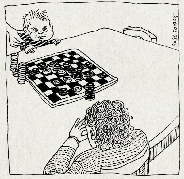 tekening 580, dammen spelregels midas spelen handen tafel checkers table play