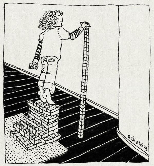 tekening 626, floor, lego, maasstraat, midas, play, stairs, toren, tower, trap