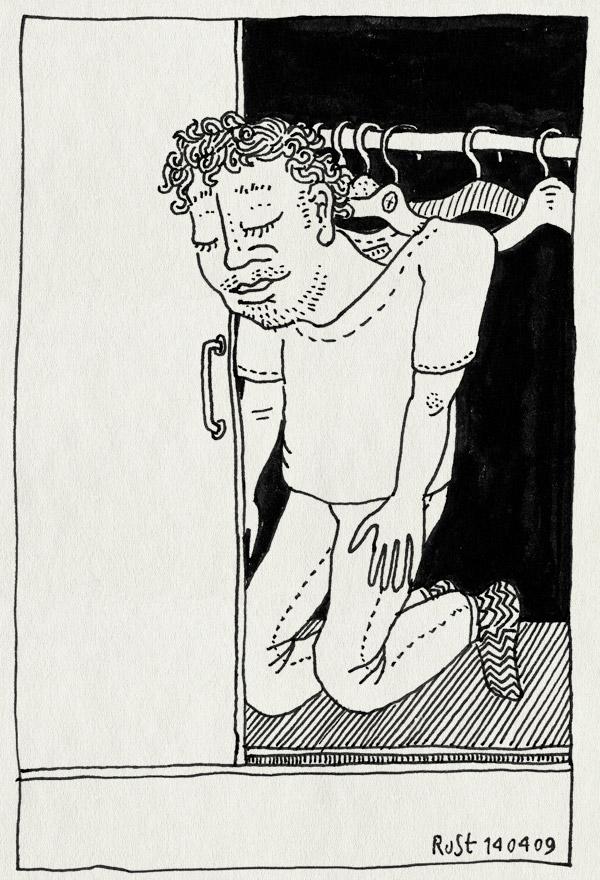 tekening 698, fairwear cloth hanger klerenhanger kast hangen buroRuSt
