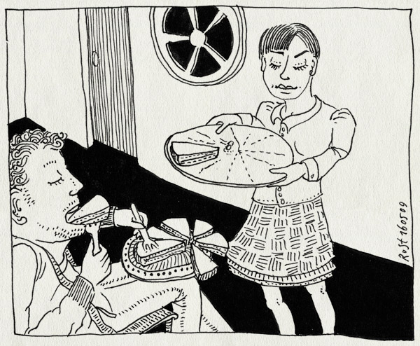 tekening 730, birthday, eten, hiba, hieb, hiep hiep, pie, taart, verjaardag