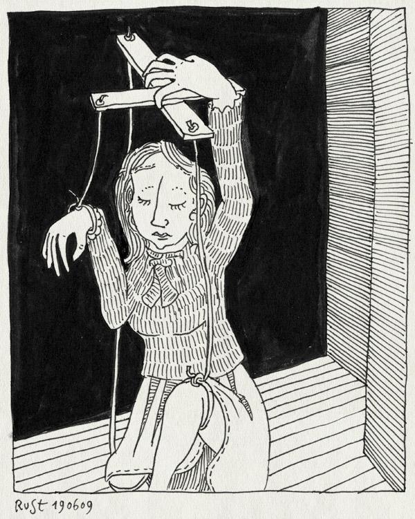 tekening 764, 10e, dance, dans, godfather, marionet, martine, pop, poppenspeler, puppet, puppeteer, selfpuppetering, sims, sims3, string, zelfpoppenspeler