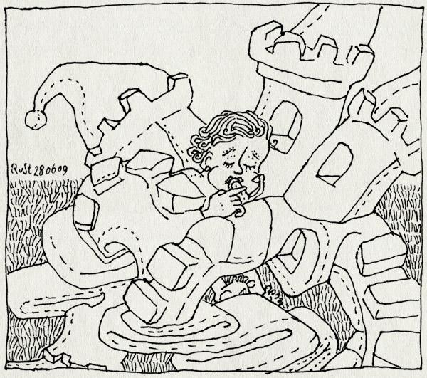 tekening 773, ,idas, air, castle, heerhugowaard, luchtkasteel, opblazen, zomer