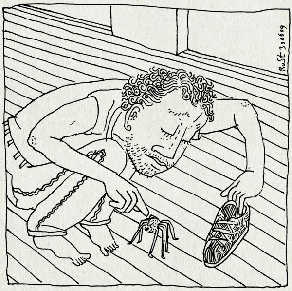 tekening 775, floor, hmh wotw, schoen, shoe, spin, vloer, war of the worlds, warmachine