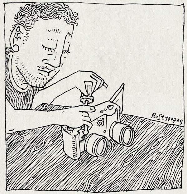 tekening 785, broken, camera, canon, combine, kapot, powershot s3, repair, rpareren, samenvoegen, scewdriver, schroevendraaier