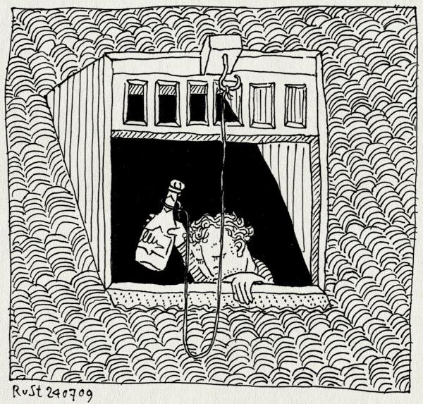tekening 799, champagne, dak, dakpannen, doop, gooien, huur, nh49, nieuwe herengracht, nieuwe huur, nieuweheeren, raam