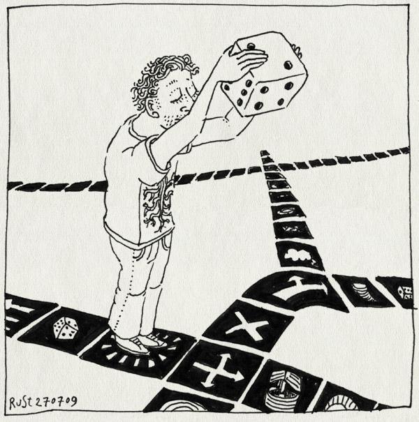 tekening 802, dice, die, dobbelsteen, game, ganzenbord, gooien, marioparty, spel, throw, wii