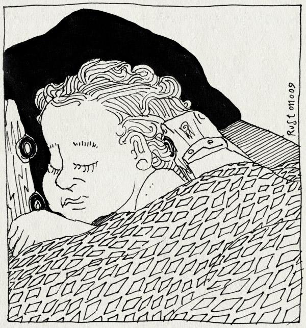 tekening 868, autoknuffel, bed, bliksem, cars, knuffles, kussen, lighning mc queen, midas, slapen