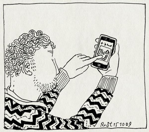tekening 882, app, droste, droste effect, drosteeffect, elkedagrust, iphone, yoazt