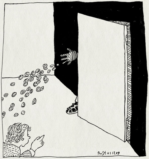 tekening 929, emil, glove, handschoen, heerhugowaard, kruidnoten, midas, opa, pepernoten, piet, sandalen, sokken, strooien, strooigoed, zwarte, zwartepiet