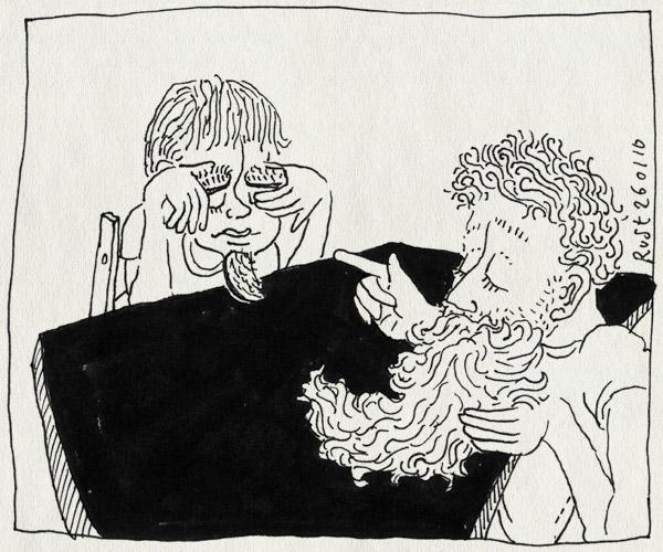 tekening 985, baard, beard, denkbrauwen, game, midas, plakbaard, spelletje, wenkbrauwen, wie is het