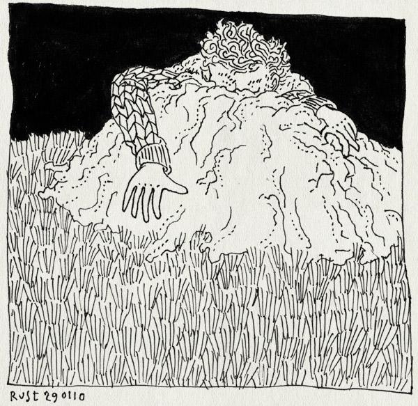 tekening 988, aarde, dirt, earth, gras, grass, laten zien, mol, mole, show, wieisdemol