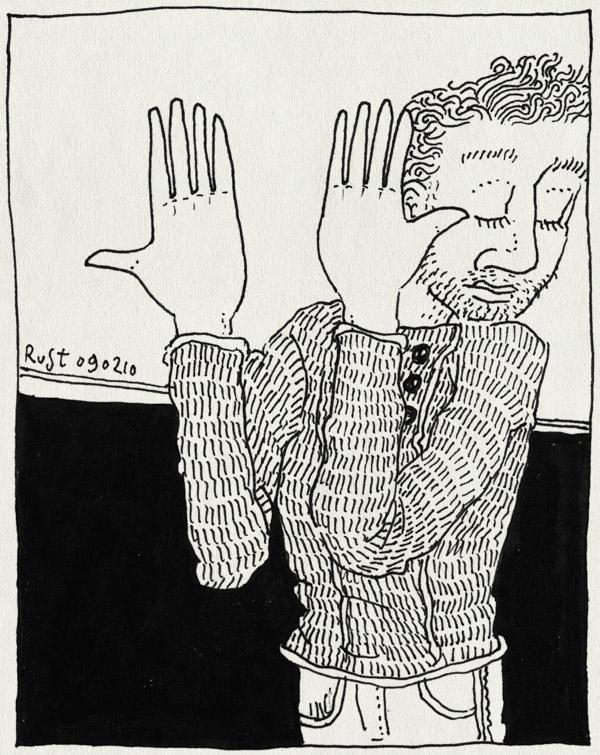 tekening 999, achterkant, back, fwf, handen, hands, labourstandards, show
