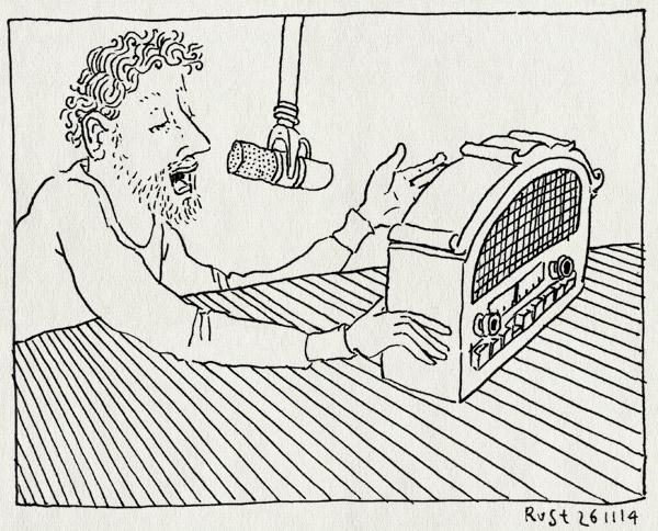 tekening 2742, 3fm, 3voor12, boek, domien, interview, npo, radio, roosmarijn, vpro