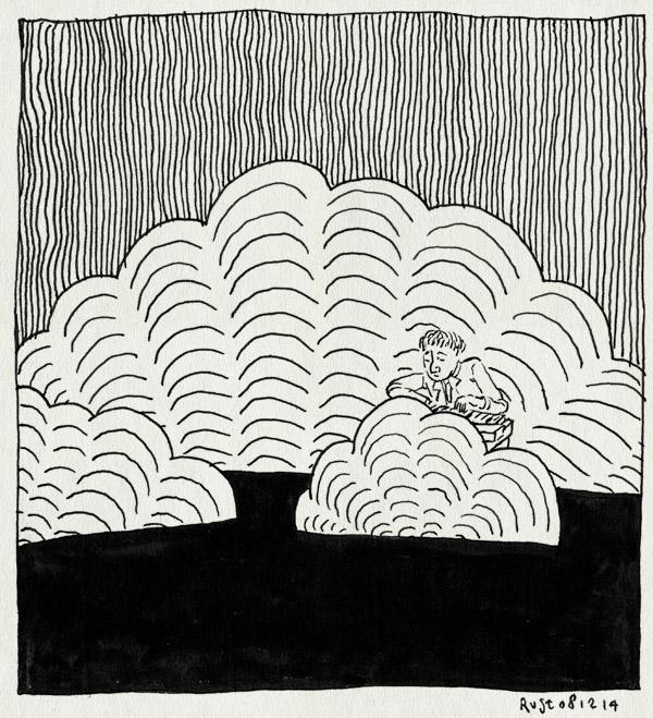 tekening 2754, concert, gaaf, metronomy, optraden, tivoli vredenburg, wolken