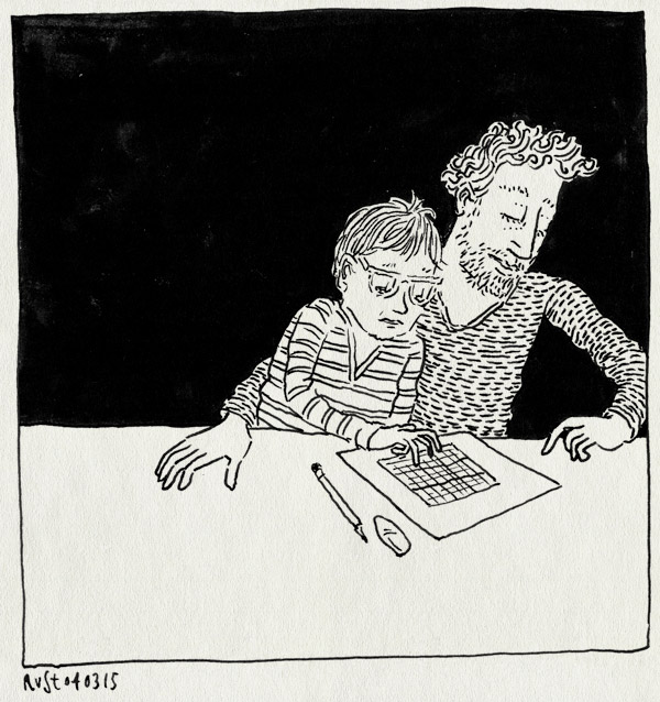 tekening 2840, dws, gum, huiswerk, midas, potlood, puzzelen, samen, sudoku, vingertjes