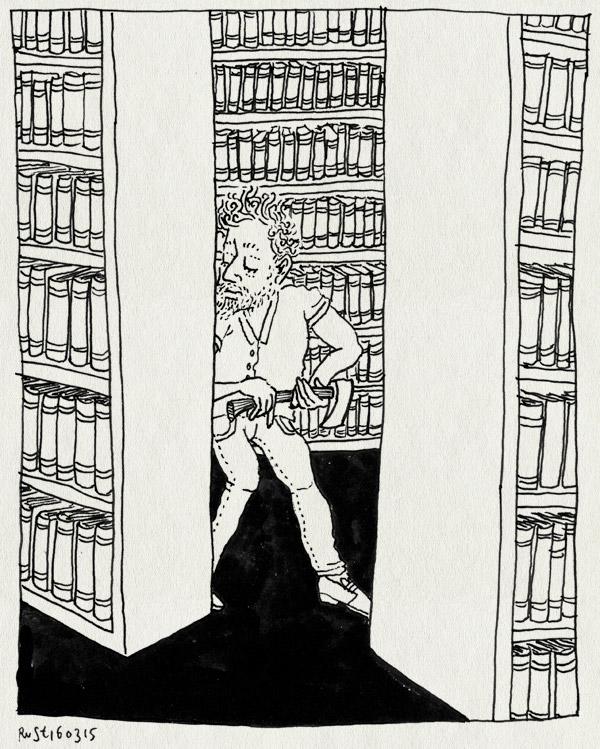 tekening 2852, avontuur, bibliotheek, bijl, boeken, boekenkasten, library, minecraft, stronghold