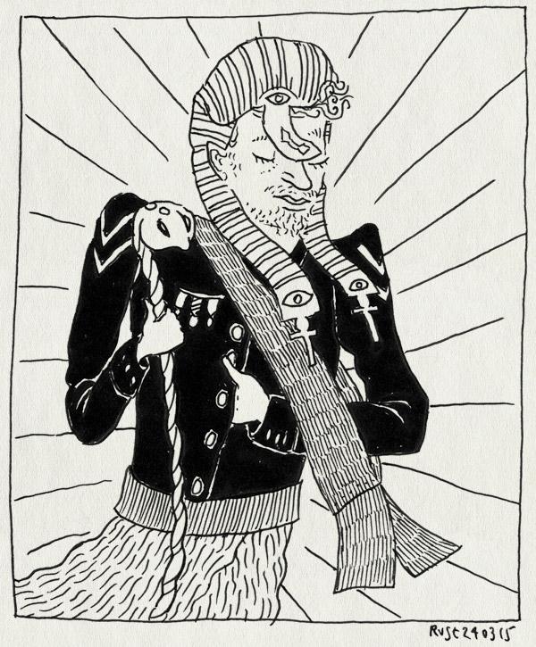 tekening 2860, arjen, farao, zml, zondag met lubach
