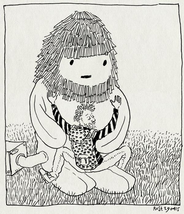 tekening 2896, beest, berlijn, hug, mascotte, omarmen, opening, pictoplasma, pictoplasma15, silent green