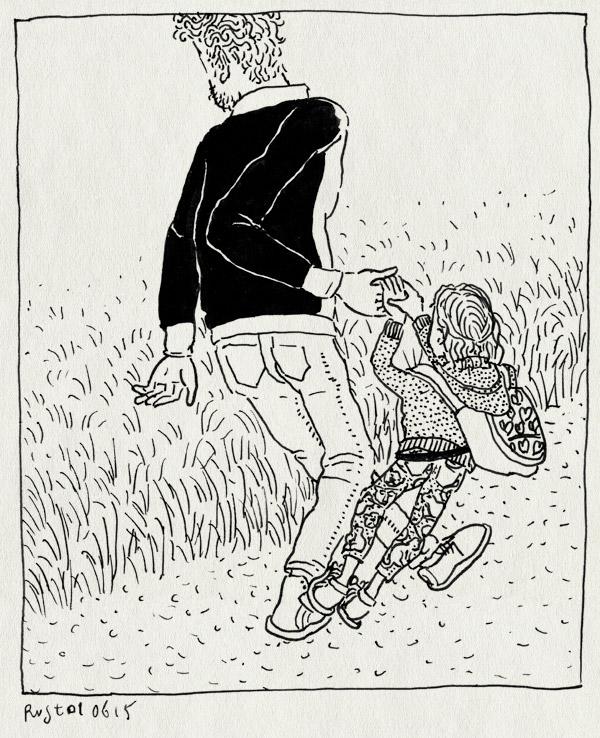 tekening 2929, alwine, avondvierdaagse, legging, slepen, tas, tillen, voeten, wandelen